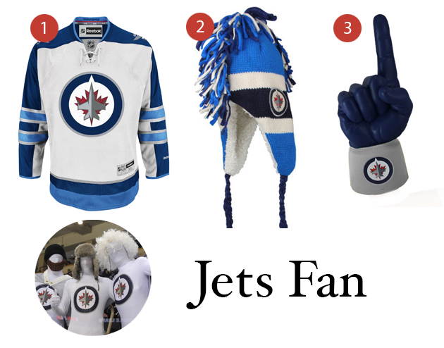 Jets Fan Manitoba Costume Ideas