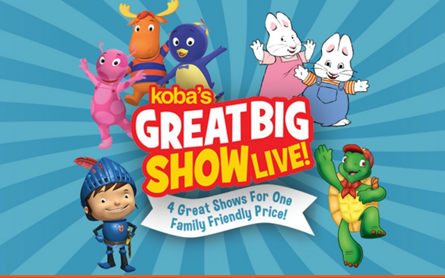 Koba's Great Big Show Live Manitoba