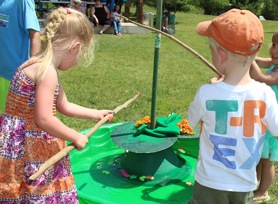 Kids activities at Minnedosa's Fun Fest