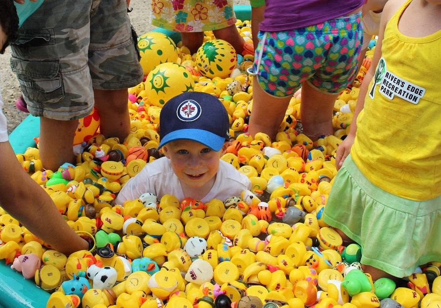 Duckdrop at Minnedosa Fun Fest