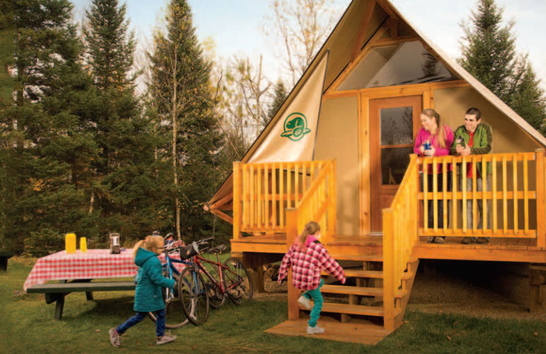 Stay in an oTENTIK in Manitoba