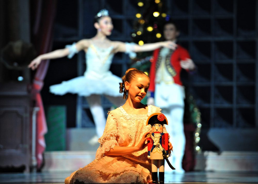 RWB School Student in Nutcracker- Photo by Vince Pahkala