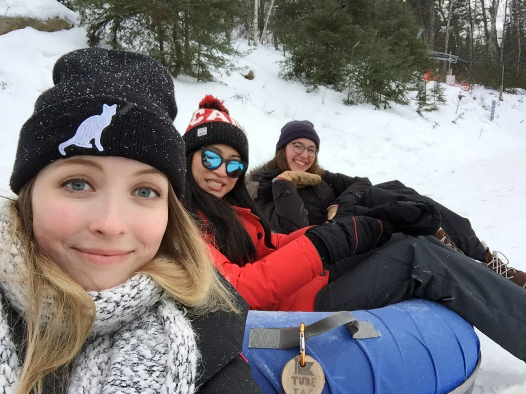 Snowtubing at Falcon Ridge Ski
