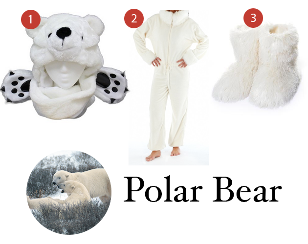 Polar Bear Manitoba Costume Ideas
