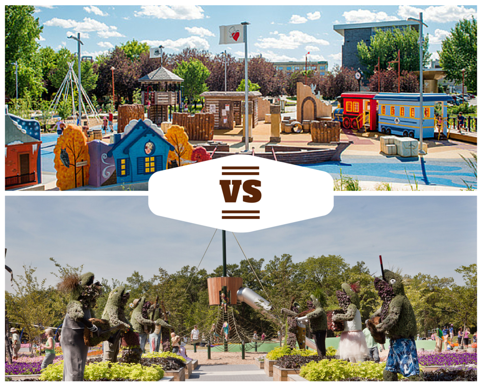 Variety Heritage Playground vs Nature Playground