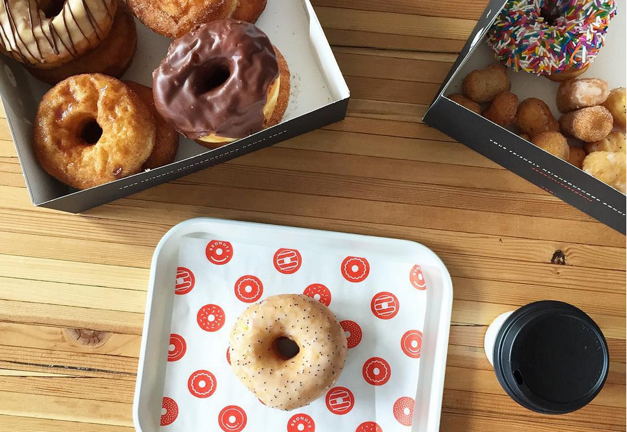 Tasty treats galore at Bronuts Donuts & Coffee.