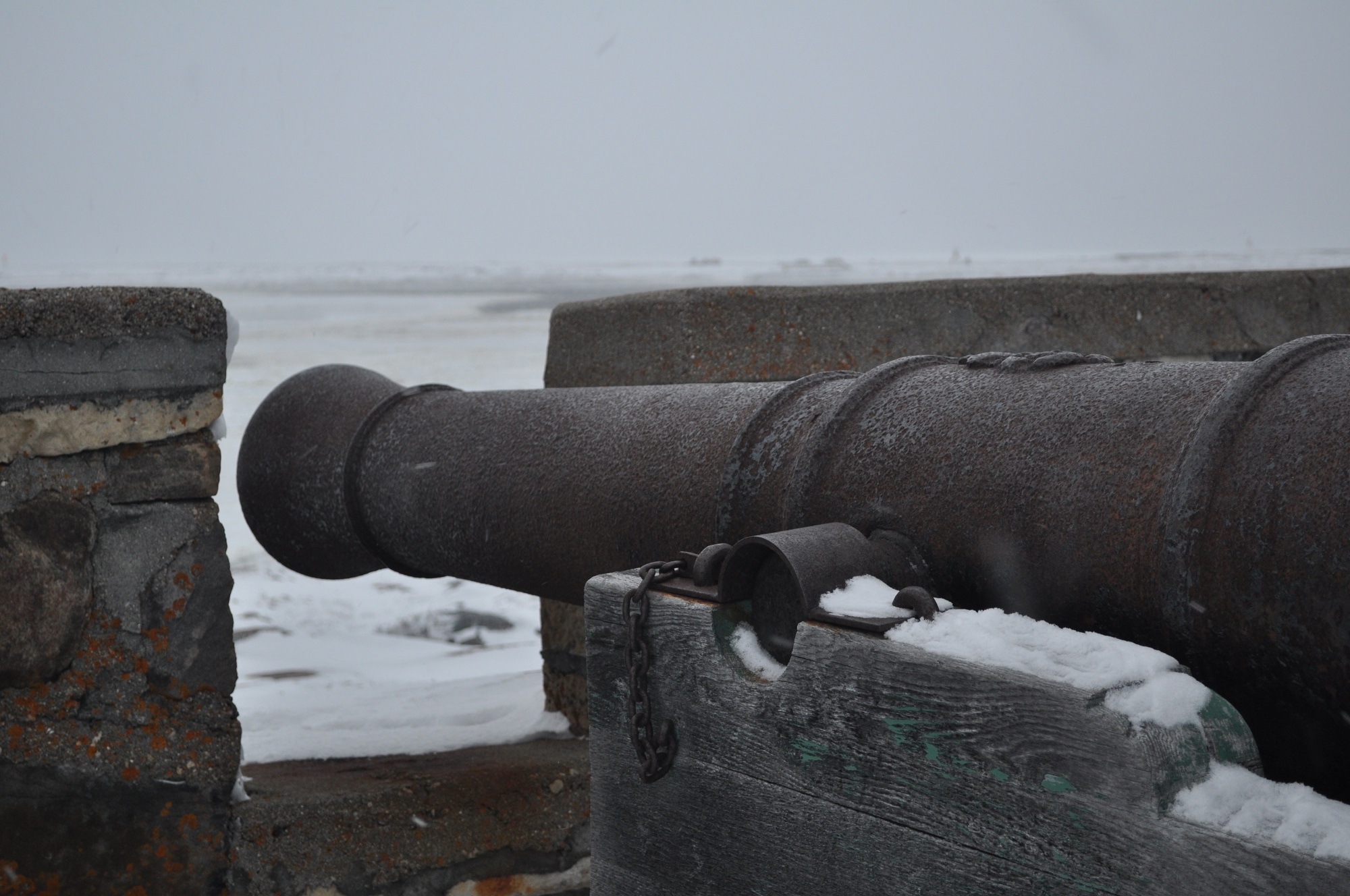 Cannon at Cape Merry in Churchill