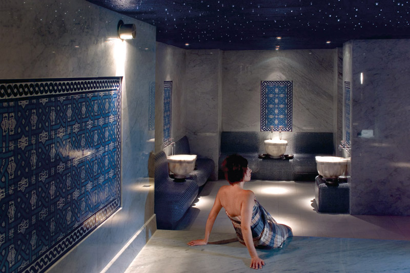 Hamam at ten spa in Winnipeg, Manitoba