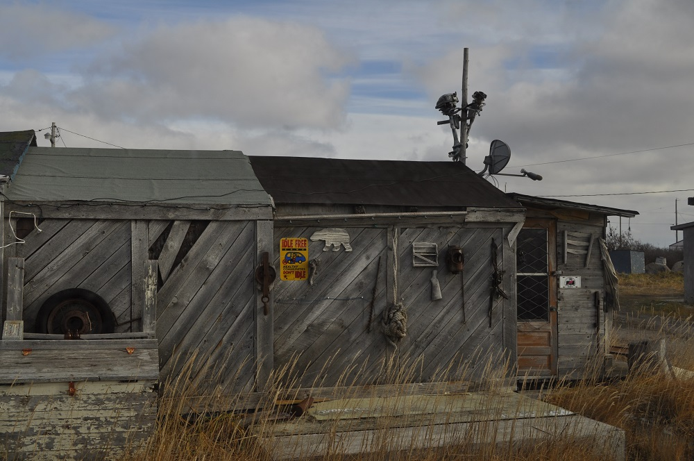 House in Churchill Flats, Manitoba