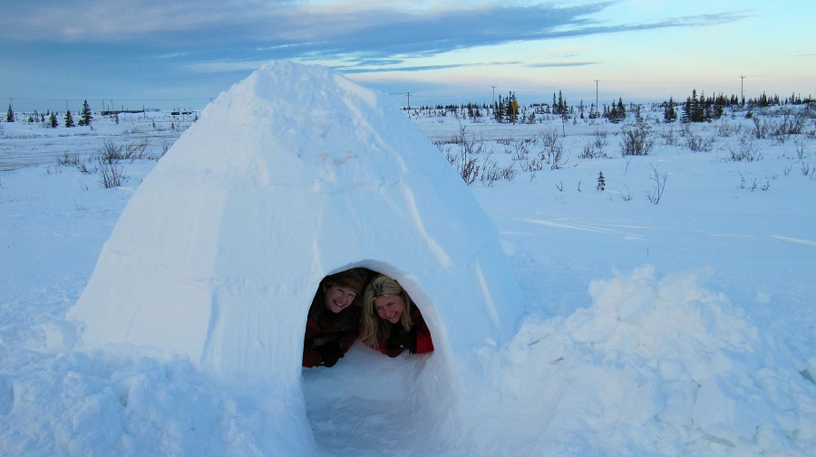 Igloo at Churchill Northern Studies Centre