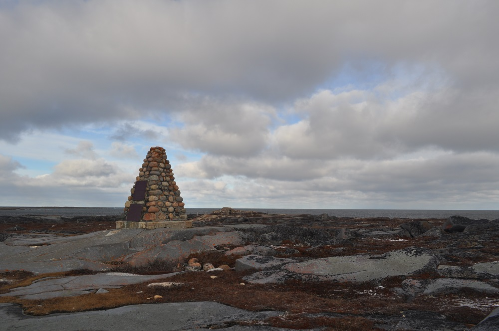 Jens Munck Cairn in Churchill, Manitoba