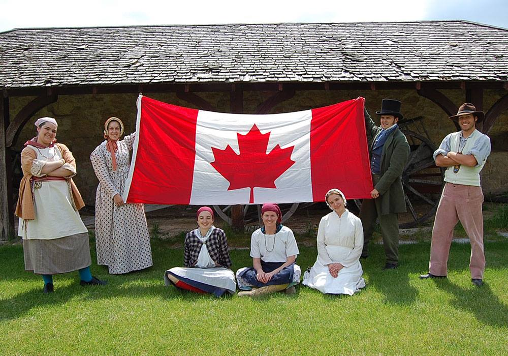 Canada Day at Lower Fort Garry.