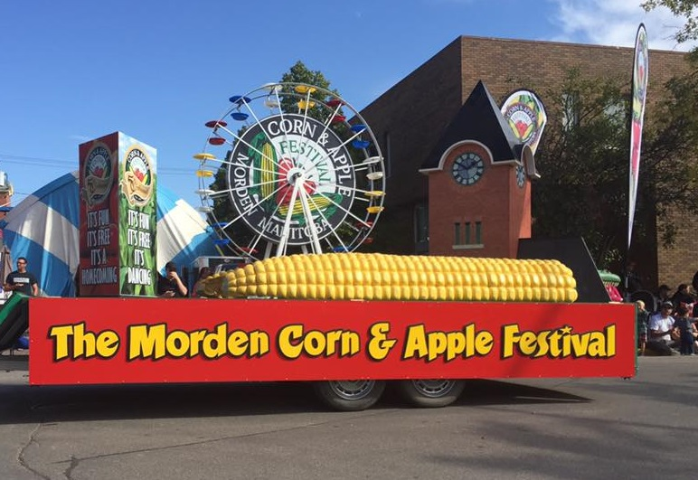 Parade at the Morden Corn & Apple Festival