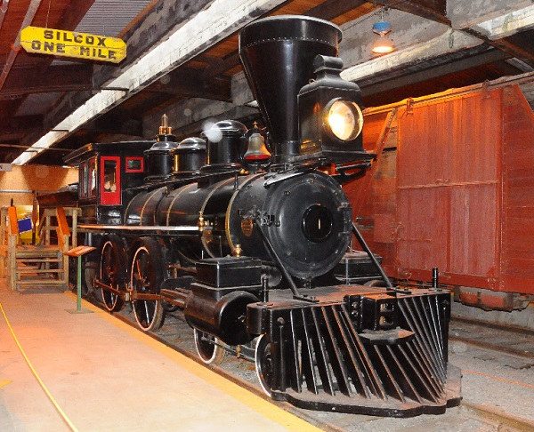 Winnipeg Railway Museum in Manitoba
