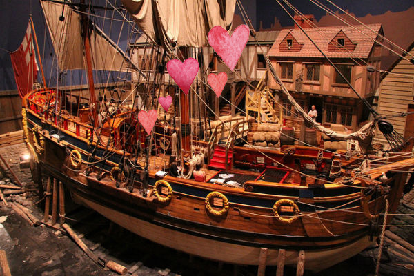 Finding love on the Nonsuch at the Manitoba Museum