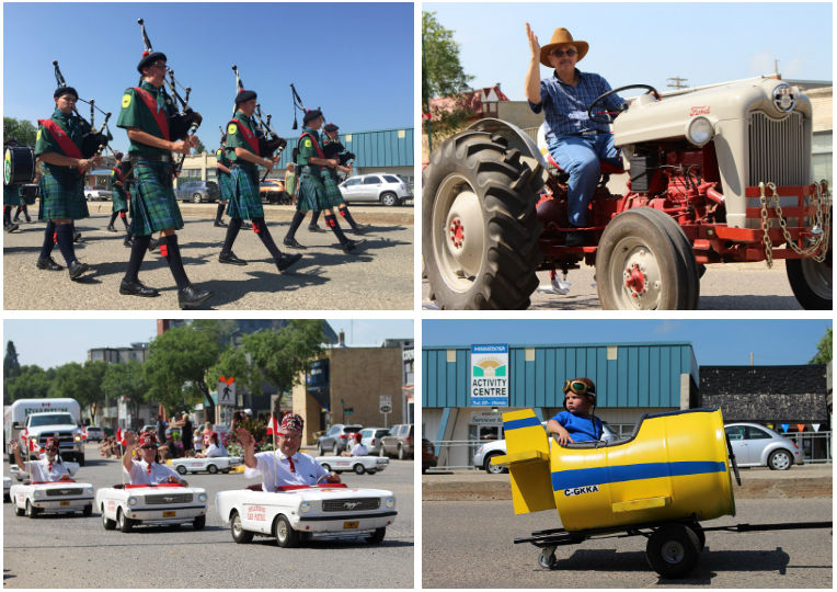 Fun Fest Parade in Minnedosa