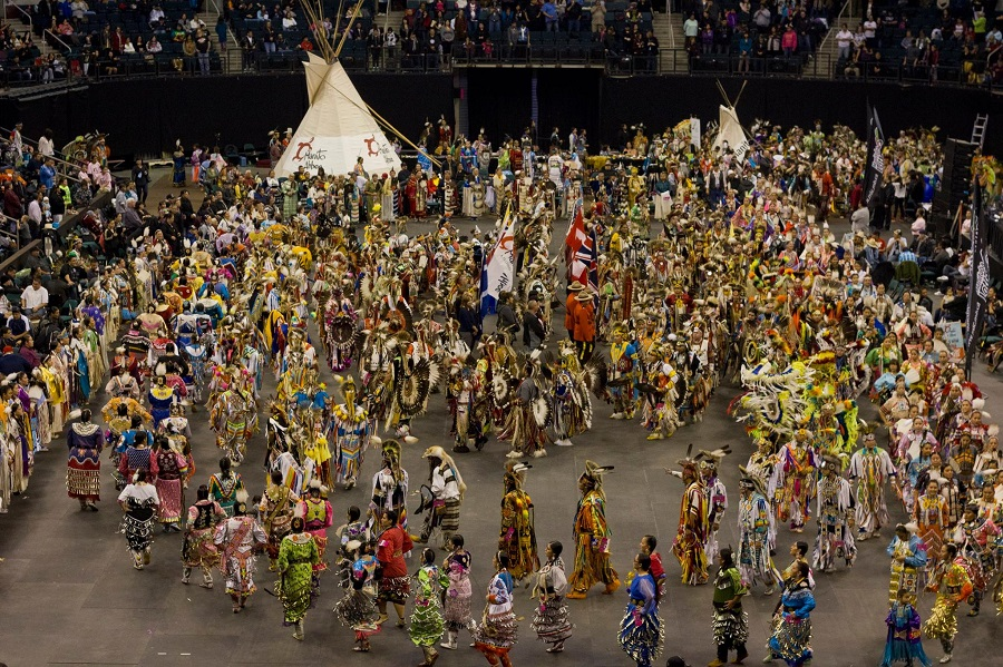 International Pow Wow at Manitoba Ahbee in Winnipeg, Manitoba