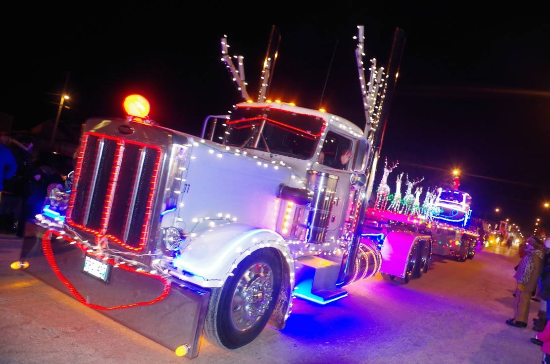 Stonewall Festival of Lights Parade in Manitoba