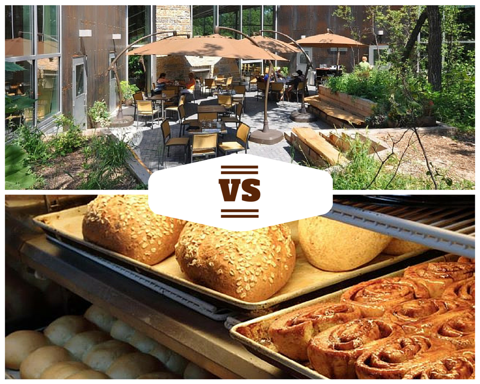 The Park Cafe vs The Forks Market