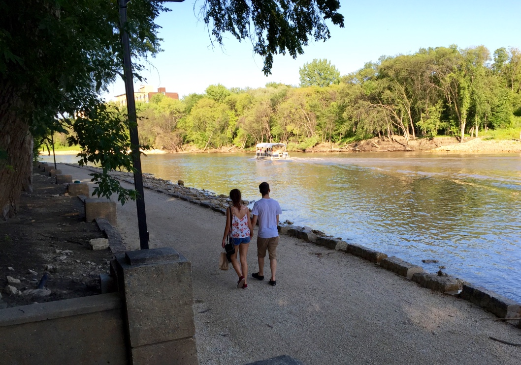 Riverwalk on Assiniboine River