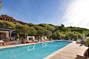 Auberge du Soleil Pool 1