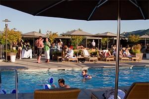 Bardessono Pool Party