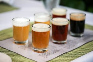Calistoga Brewery tasting