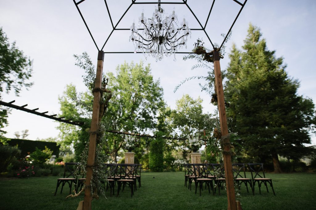 Tre Posti in Napa Valley Chandelier