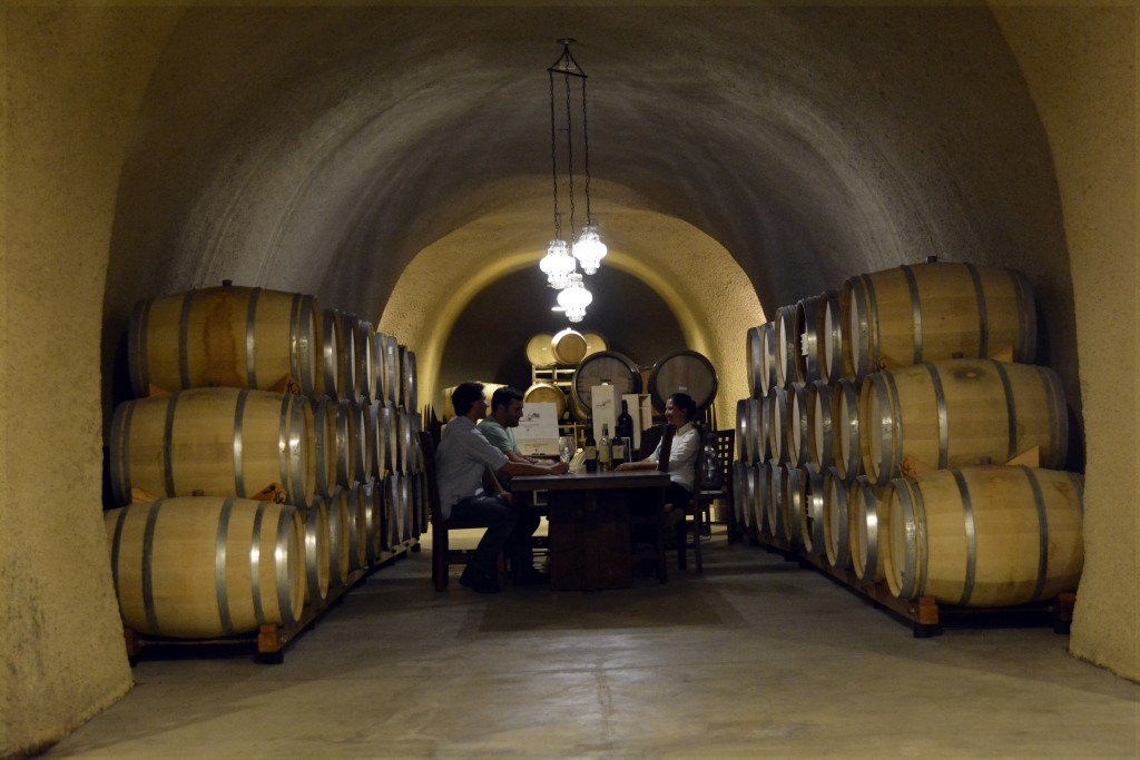 Jericho Canyon Vineyards Cave Tasting