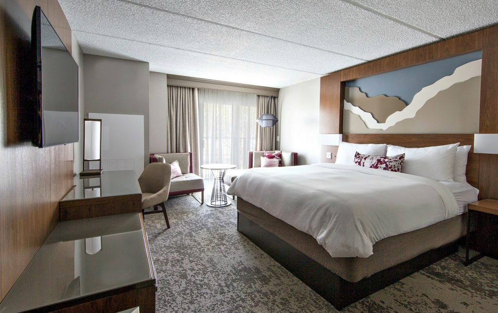 Napa Valley Marriott New Guestroom 2016