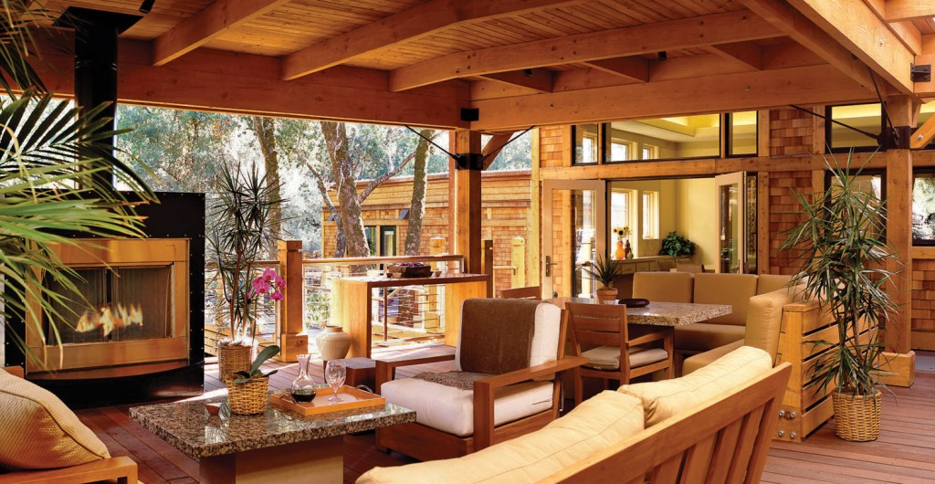 Napa Valley's Most Luxurious Hotel Rooms - Calistoga Ranch 3