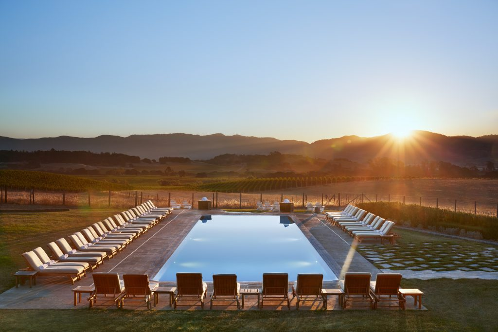 The Carneros Inn Pool