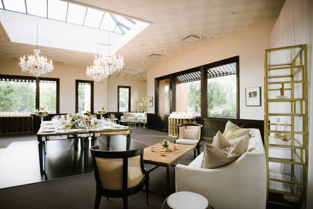 Tre Posti Harvest Room in Napa valley