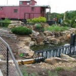 Overland Park Arboretum Train Garden