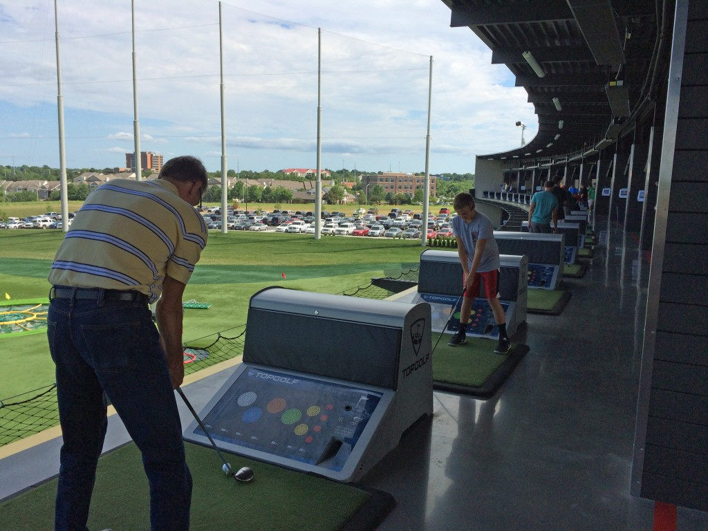 Bays at Topgolf