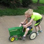 Pedal Tractors at The Children's Farmstead