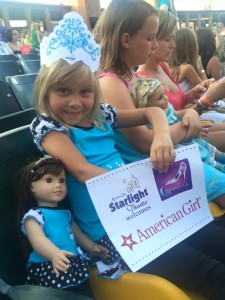 Elyse at Starlight with American Girl