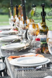 Somerset Wine Trail - Table Set for Dinner