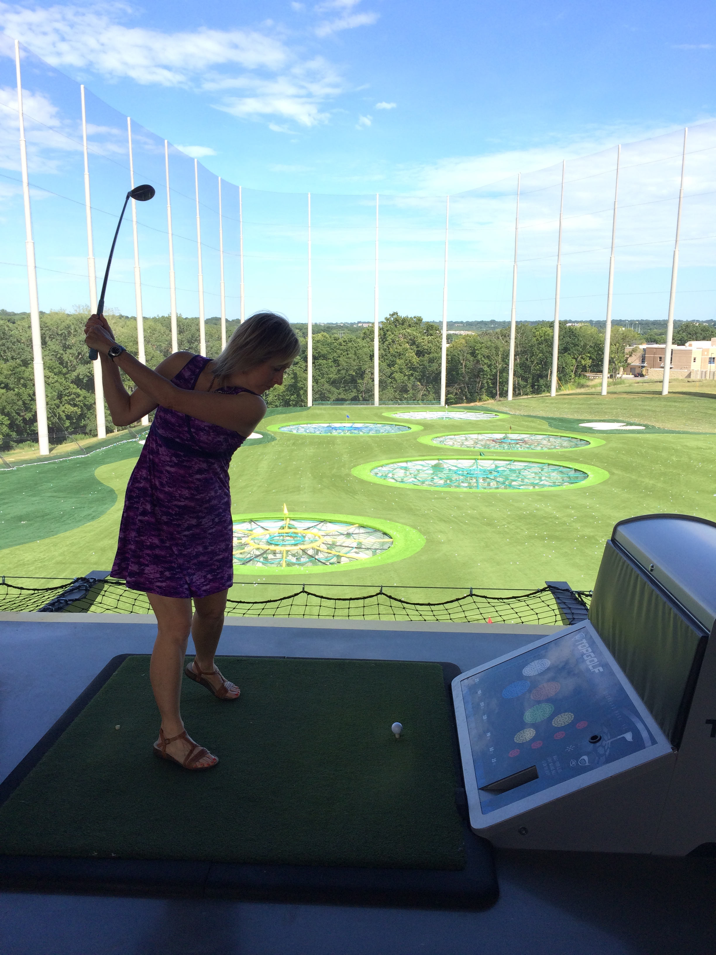 Targets at Topgolf