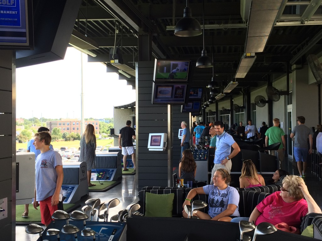 Year-round Fun at Topgolf