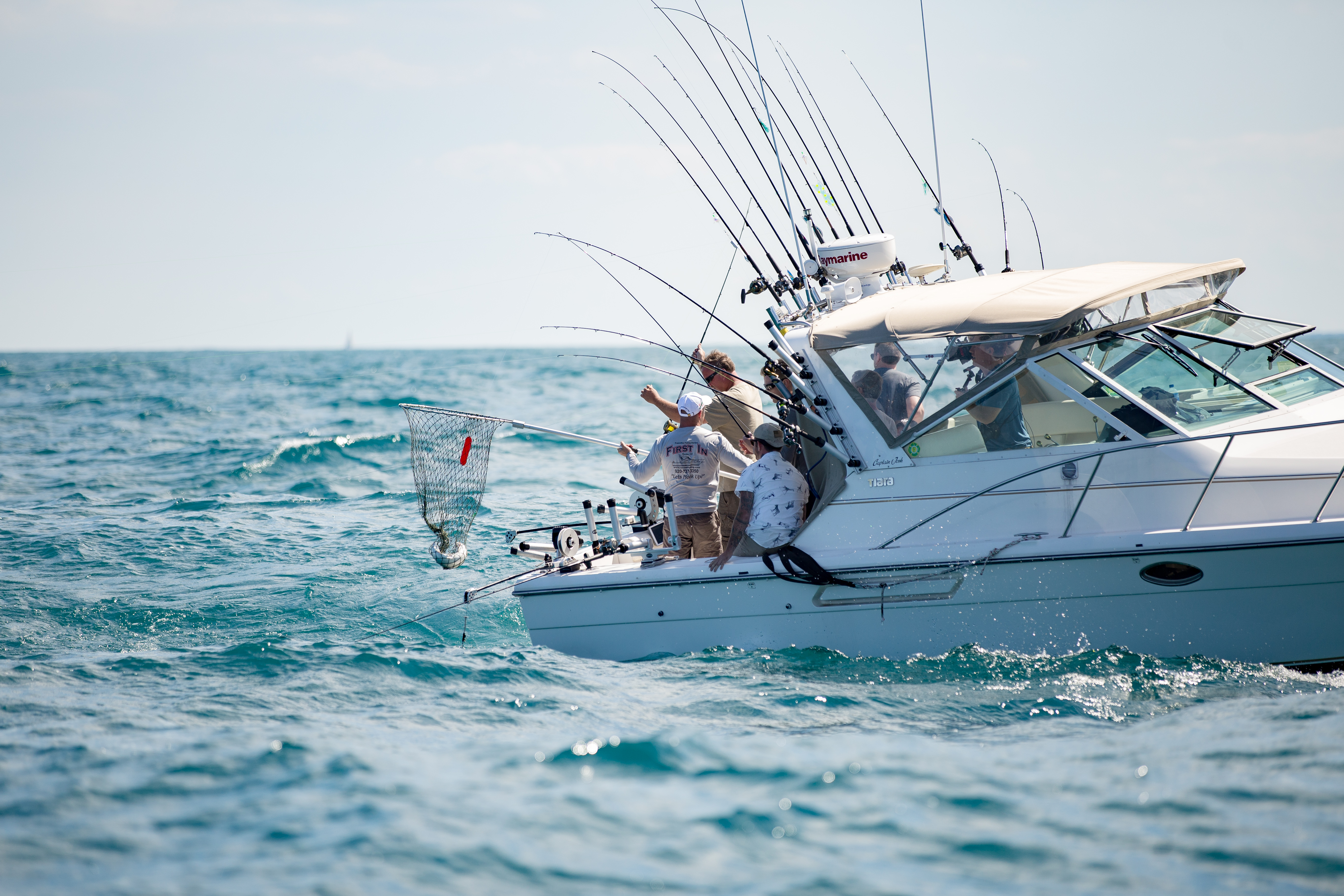 Racine wi official tourism site hotels events things to do for Racine charter fishing
