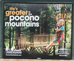 2015 Spring/Summer Poster - Pocono Treeventures