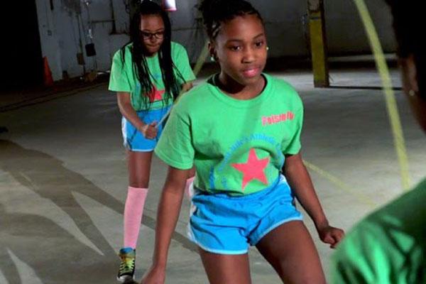 Girls Dancing in Newark