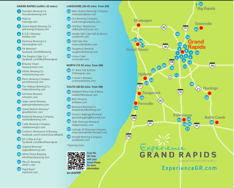Grand Rapids Craft Beer Tour