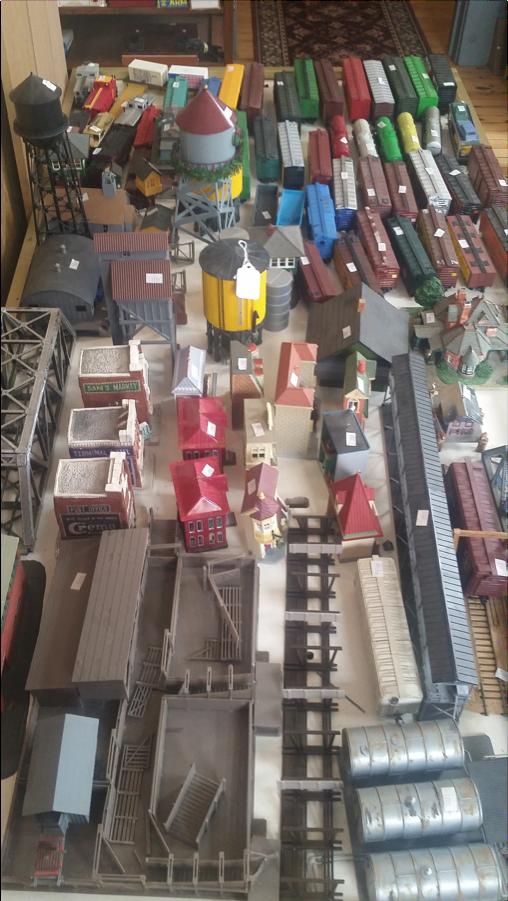 Colfax Train Museum Trains
