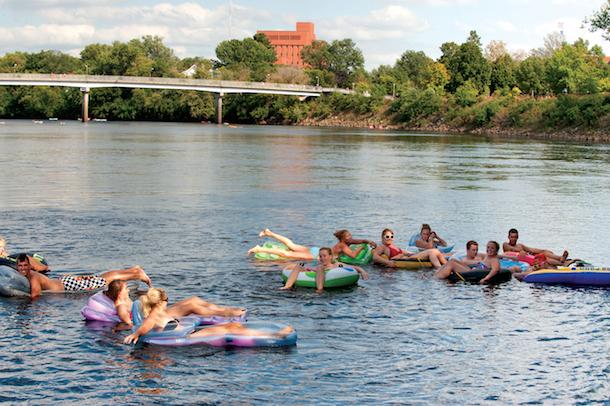 Eau Claire River Tubing