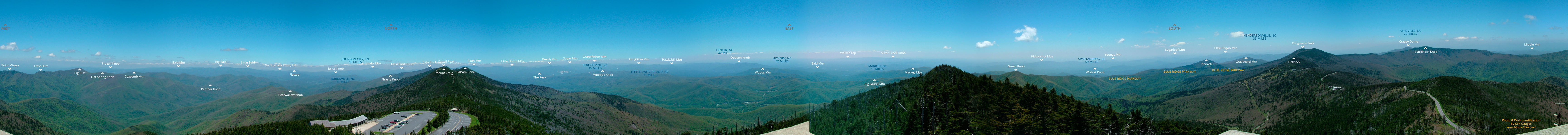 Mt. Mitchell Panorama