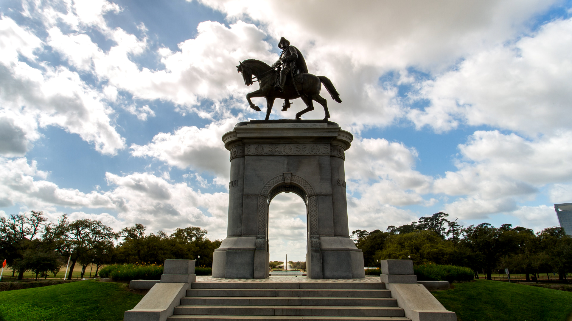 Sam Houston Statue at Museum District