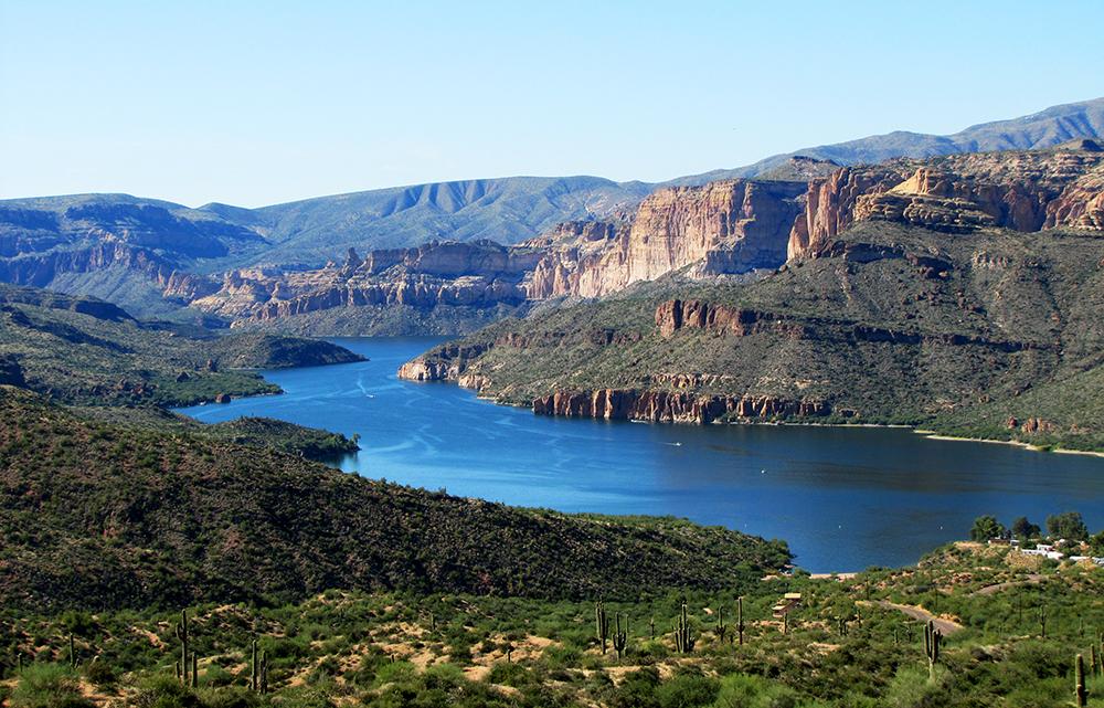Scenic Drives In Phoenix Dobbins Lookout Apache Trail