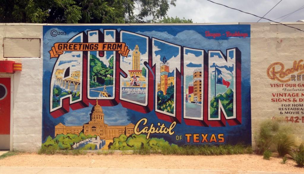 Greetings from Austin Mural & Best of Austin Murals